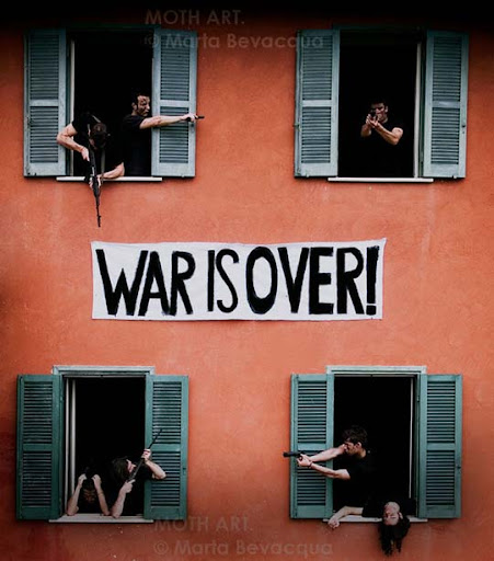 war is over  by m0thyyku Conceptual Photography: Pictures Speak a Thousand Words