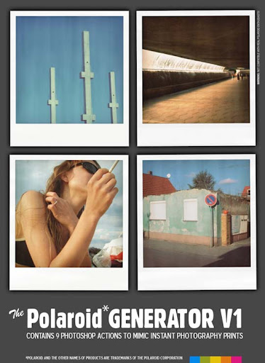 Polaroid GENERATOR V1 by rawimage The Ultimate Collection Of 500+ Useful Free Photoshop Actions