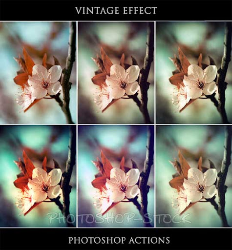 Vintage Effect   Ps Actions   by photoshop stock The Ultimate Collection Of 500+ Useful Free Photoshop Actions