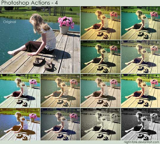 photoshop actions   4 by night fate The Ultimate Collection Of 500+ Useful Free Photoshop Actions