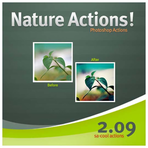 Nature Actions 2 09 by sa cool The Ultimate Collection Of 500+ Useful Free Photoshop Actions