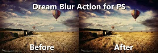 Photoshop Dream Blur Action by jaj43123 The Ultimate Collection Of 500+ Useful Free Photoshop Actions