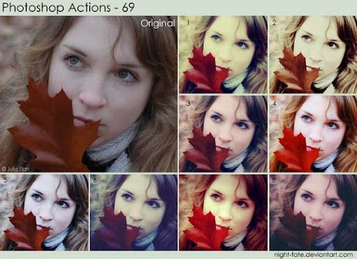 photoshop actions   69 by night fate The Ultimate Collection Of 500+ Useful Free Photoshop Actions