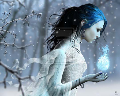 Winter Solstice by angel1592 40 Examples of Emotional Female Photomanipulation Art