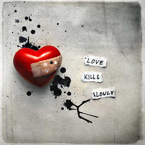 love+kills+slowly 40 Examples of Emotional Female Photomanipulation Art