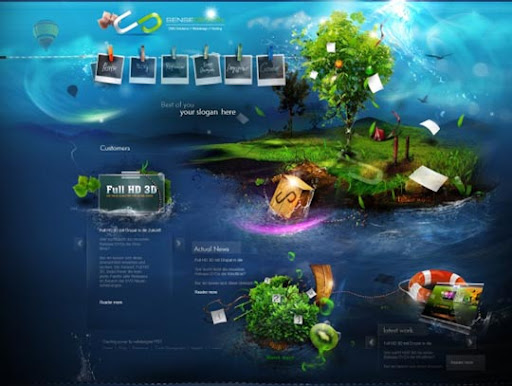 sense design+ver+1+by+%7Ewebdesigner1921 40 Gorgeous Portfolio Web Interface Designs You Must See