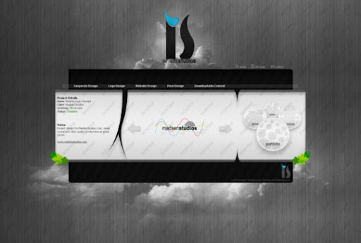 InfiniteStudios+Portfolio+by+infinitestudios 40 Gorgeous Portfolio Web Interface Designs You Must See