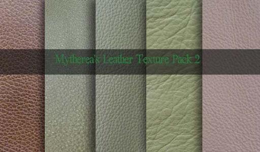 Leather Texture Pack 2 by Mytherea Design Resource: Free Leather Texture Packs