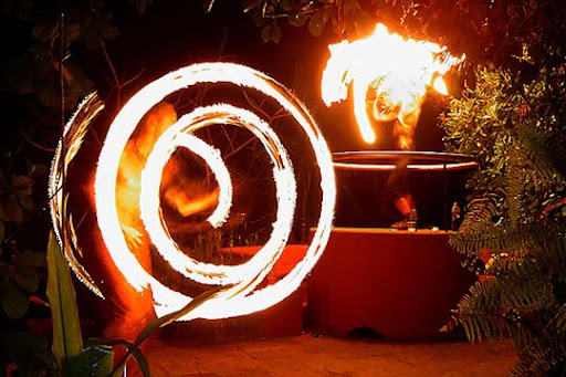 Magic Happens- Fire Dancers Club Cabana, Arpora, Goa