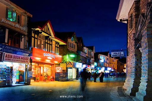 An+Evening+View+of+Mall+Road,+Shimla The Incredible India: 90 Spectacular Photos