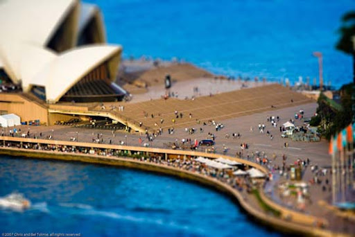 My+Miniature+City+of+Sydney 50+ Beautiful Examples of Tilt Shift Photography
