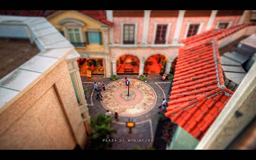 Plaza+de+Miniature 50+ Beautiful Examples of Tilt Shift Photography