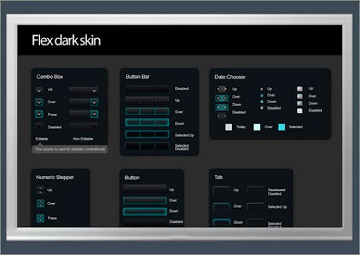 Useful Free Web UI Elements PSD Packs Download