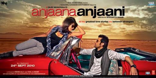 Anjaana+Anjaani+%281%29 30+ Creative Bollywood Movie Posters | Design Inspiration