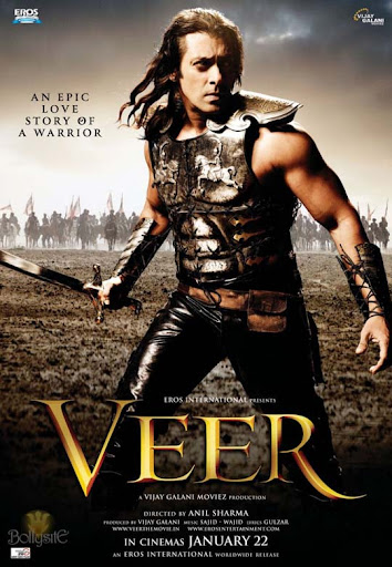 veer+movie+poster 30+ Creative Bollywood Movie Posters | Design Inspiration