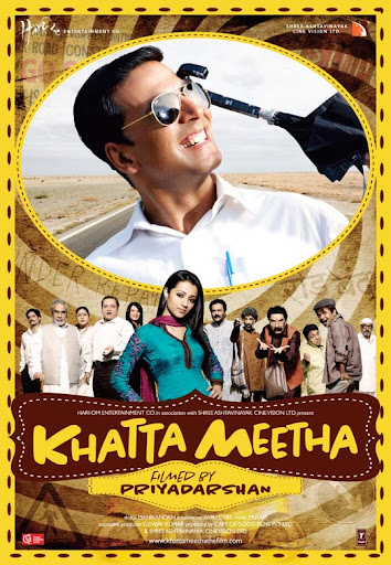Khatta+Meetha 30+ Creative Bollywood Movie Posters | Design Inspiration