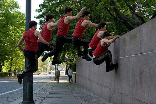 Parkour 40 Stunning Sequence Photography Examples