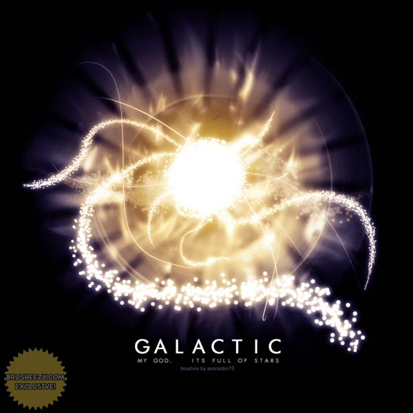 GIMP Galactic Brushes by Project GimpBC 1500+ Free GIMP Brushes Packs for Download