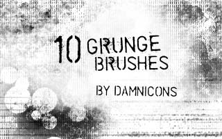 Grunge brush set 3 by Sarah Dipity 1500+ Free GIMP Brushes Packs for Download