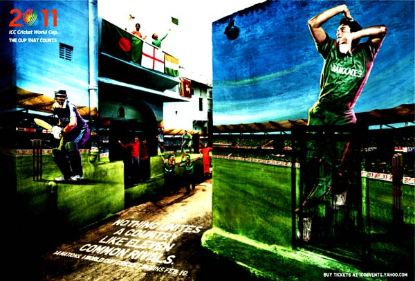 Bangladesh%2BICC%2BCricket%2B2011%2Bworldcup%2Bposter Official ICC Cricket Worldcup 2011 Print Advertisements Posters