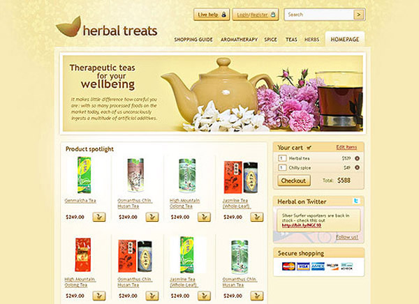 Herbal+treats 80+ Free Editable PSD Website Templates