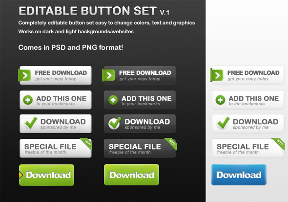 Best Beautiful Browser Form Elements PSD