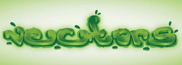 Create+a+Green+Viscous+Text+Effect Fresh Photoshop & Illustrator Tutorials from January 2011