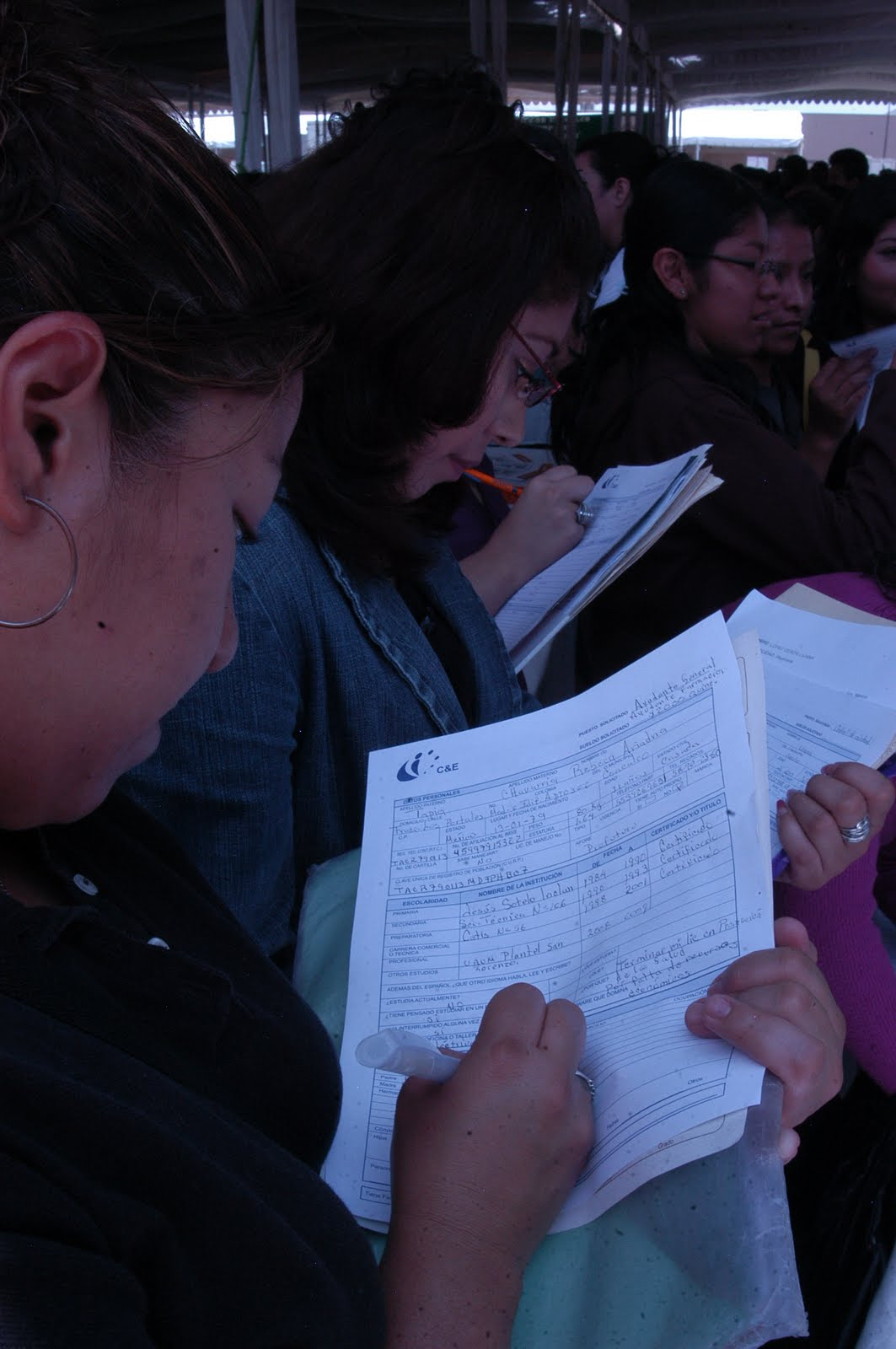 Faltaron plazas de nivel licenciatura en feria del empleo de Coacalco