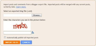 import form from blogspot