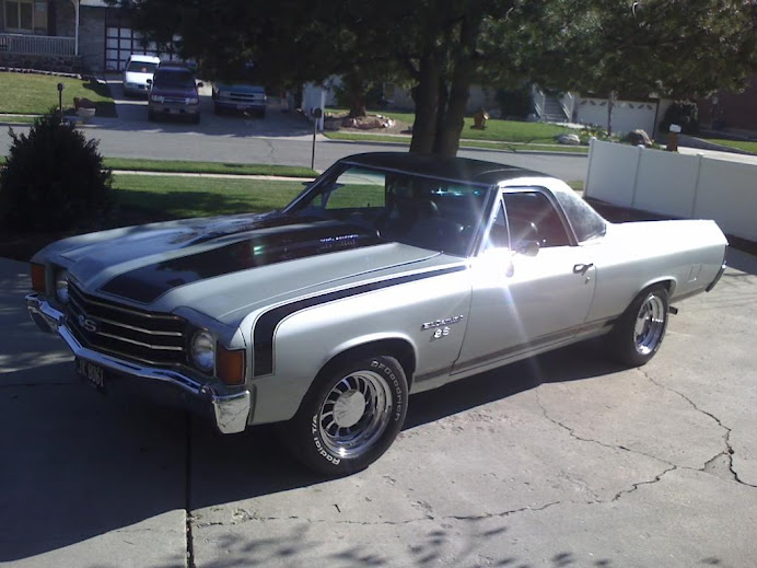 1972 Chevrolet El Camino Super Sport (SS) w/350 Crate Small Block