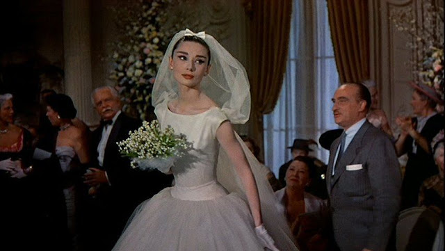 Audrey hepburn funny face veil weddingbee for Funny face wedding dress