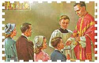 Holy Communion, Easter Duty