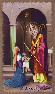 St. Blaise Blessing The Throat