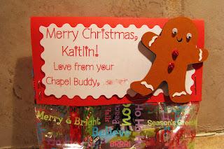 Jen S Happy Place Chapel Buddy Christmas Treat Bags