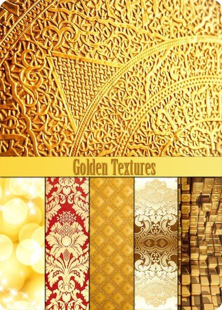 Recursos Para El Diseñador: Texturas Doradas