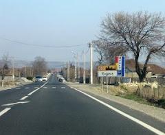 Intrare in comuna Rogova