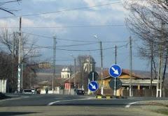 Centrul comunei Rogova