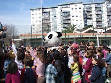 Vila Moleza na escola