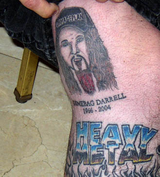 BLS website (Estd. 2001) Forums-viewtopic-Picture of Dimebag tattoo?