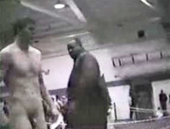 from Conner naked wres tling weigh in
