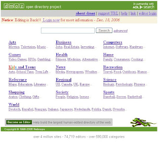 you lot many bring been wondering what has happened to DMOZ these concluding few months DMOZ is Open For Business!