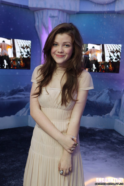georgie henley hot