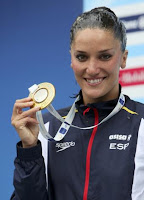 EUROPEO DE NATACIÓN-Medallistas españoles