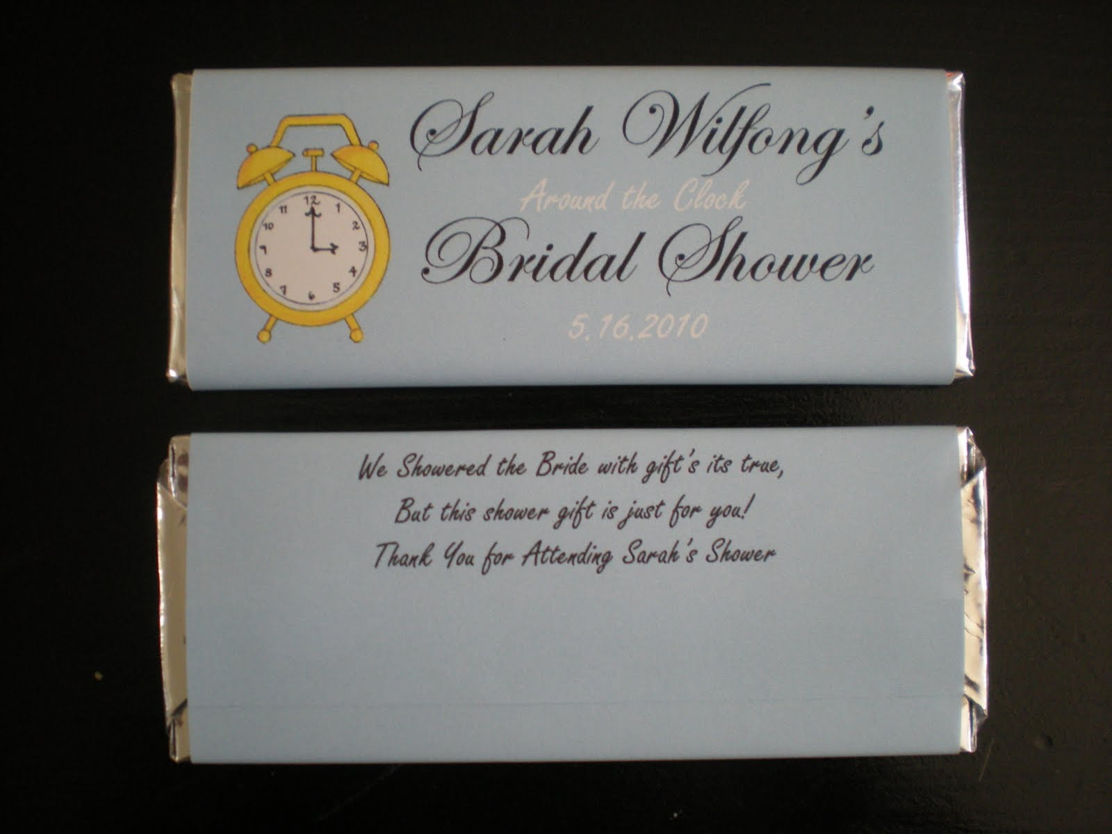 Wedding Gift Tag Wording : Bridal Shower Favors