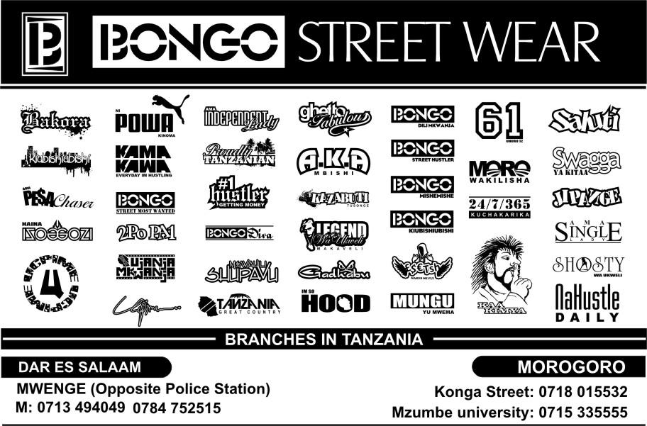 BONGO STREET WEAR