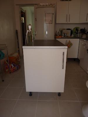 Initiales gg fabriquez un lot central pour votre cuisine - Fabriquer un ilot central cuisine pas cher ...