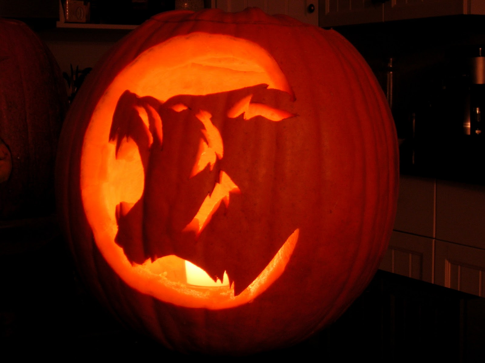 Wolves pumpkin carving pictures to pin on pinterest