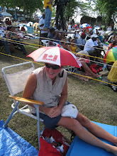 Cheryl - Enjoying the Festival