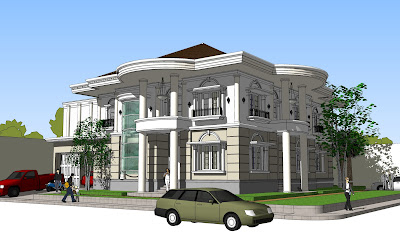Desain Rumah Klasik Modern on Rumah Modern Classic