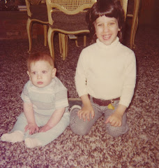 Mike and his brother Craig as kids